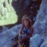 LYNN HILL ON HALF DOME, CIRCA 1970S